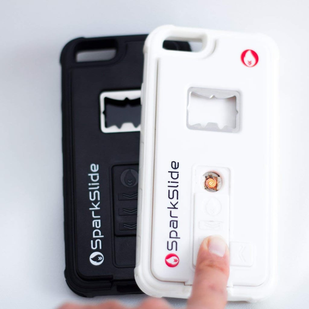An iPhone Case With a Bottle Opener and Lighter Built Into It