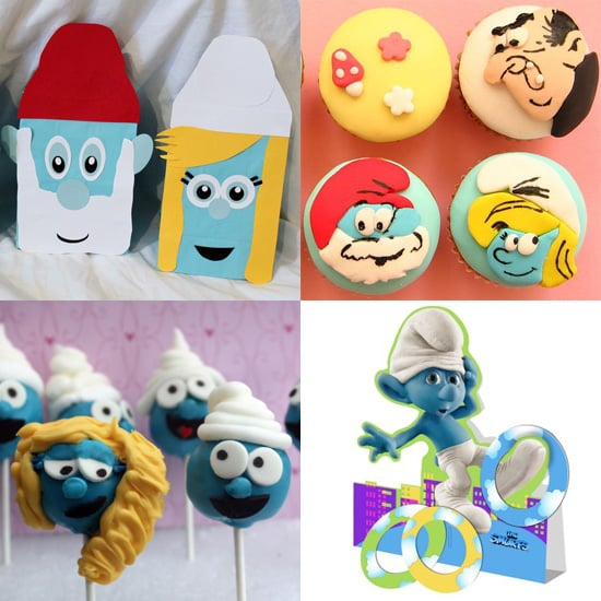Party Ideas For a Smurfs Themed Birthday Party