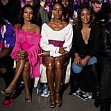 Pictured: Karrueche Tran, Kelly Rowland, and Tiffany Haddish