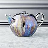 Oil Slick Reactive Luster Teapot ($15)