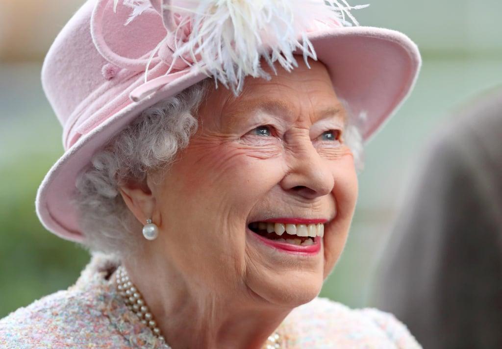 Queen Elizabeth II Smiling Pictures