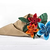 Try to fold challenging origami pieces.