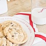 Milk & Cookies Stoneware Plate