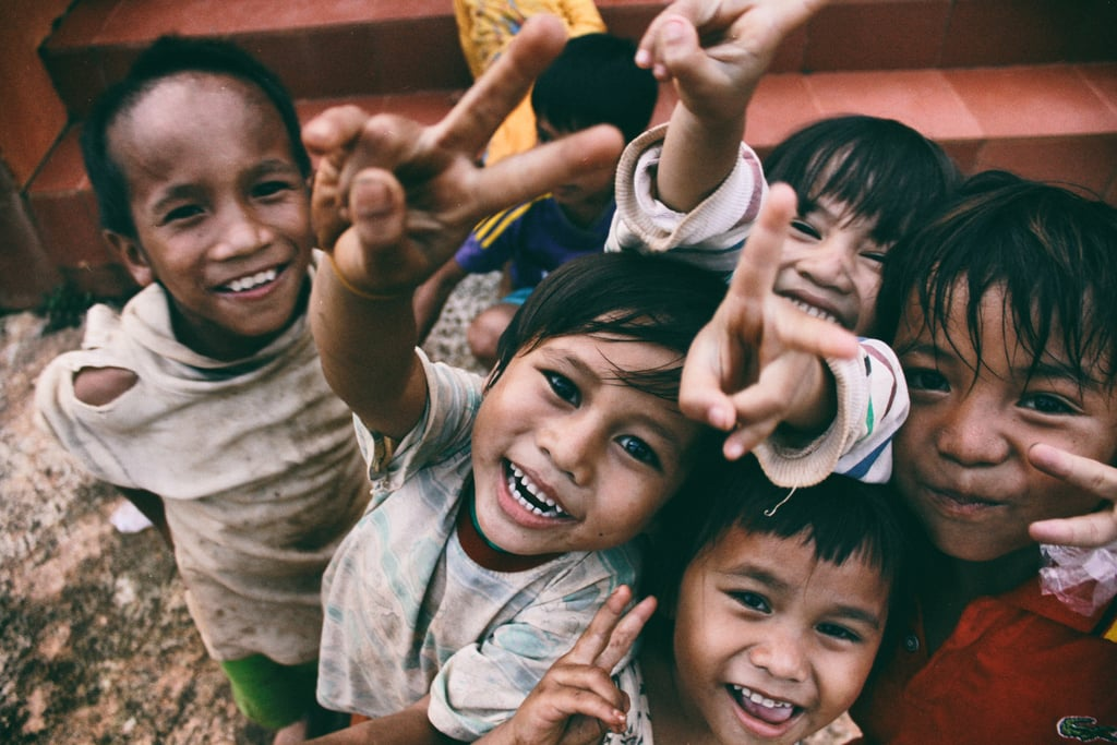 Sponsor a child in a developing country.