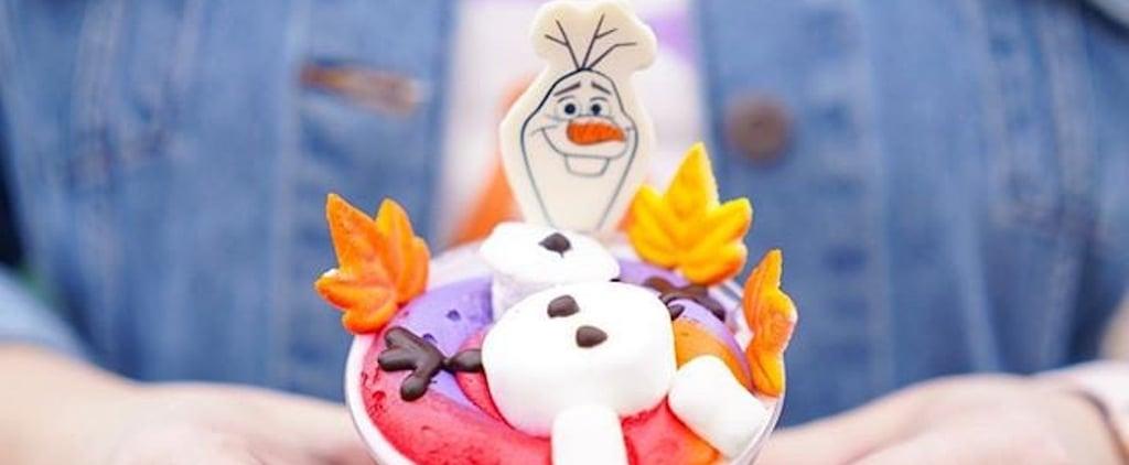 Disney World Has Frozen-Themed Olaf Hot Chocolate Cake