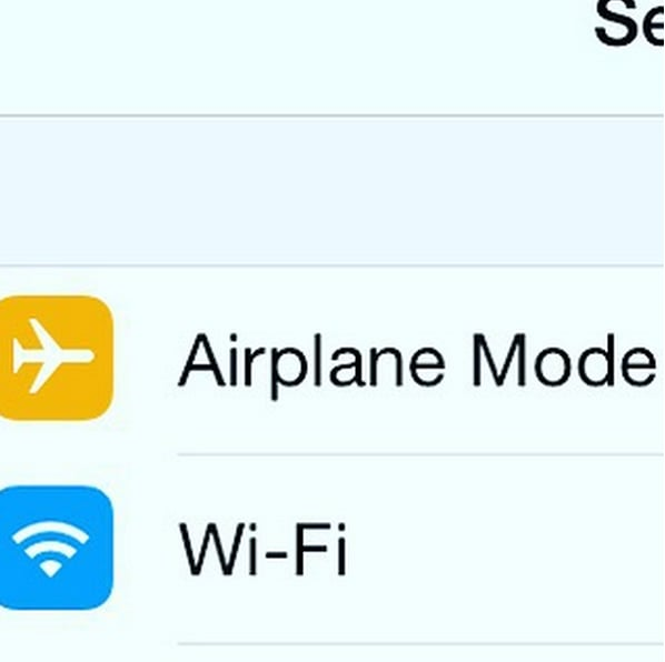Charge your phone faster by putting it on Airplane Mode.