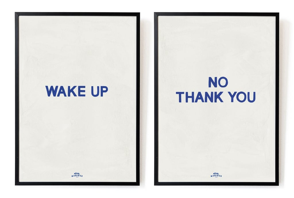 Wake Up - No, Thank You. The Blue Set