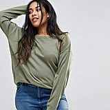 Brave Soul Plus Rony Dip Back Sweater ($29)