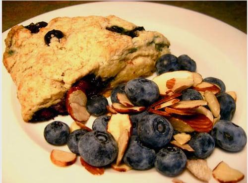 Bake It: Blueberry Almond Scones | POPSUGAR Fitness