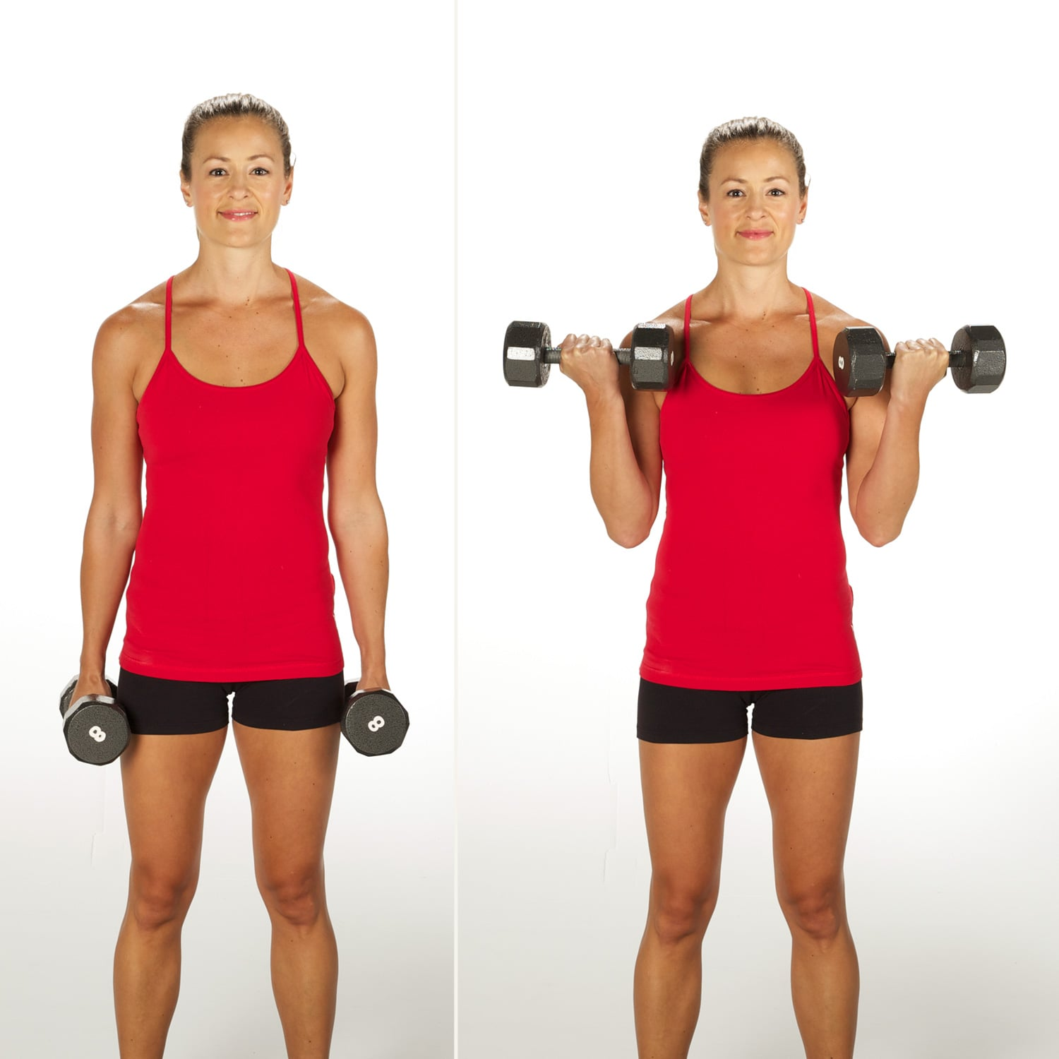 Bicep Curl | Sculpt and Strengthen Your Arms With This 3-Week ...