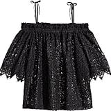 H&M Lace Off-the-shoulder Blouse - Black - Ladies ($50)