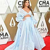 Maren Morris Wears Blue Honayda Dress to the 2019 CMA Awards