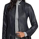 Chico's Faux-Leather Fringe Jacket
