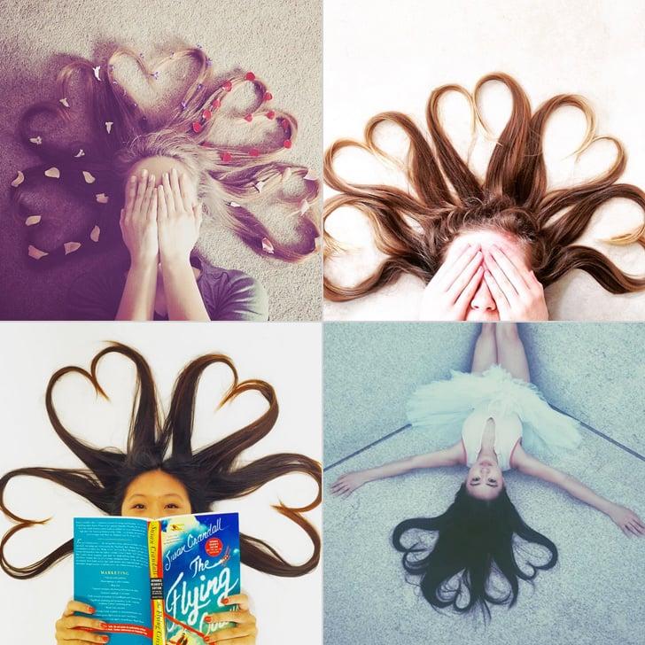 Kendall Jenner Heart Hair Instagram Trend