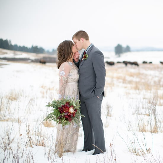 New Year's Day Winter Wedding