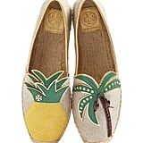All you need are palm trees and pineapples when you're wearing these Tory Burch Women's Castaway Espadrille Slip-On ($195).