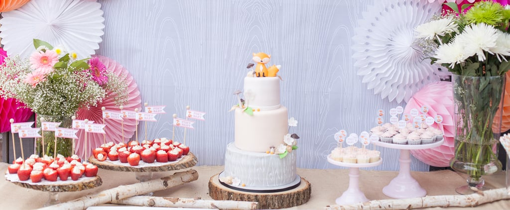 This Foxy Baby Shower Brings It by Combining Style With Sass