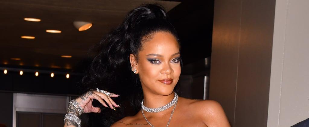 Celebrity Black Nail Polish Trend