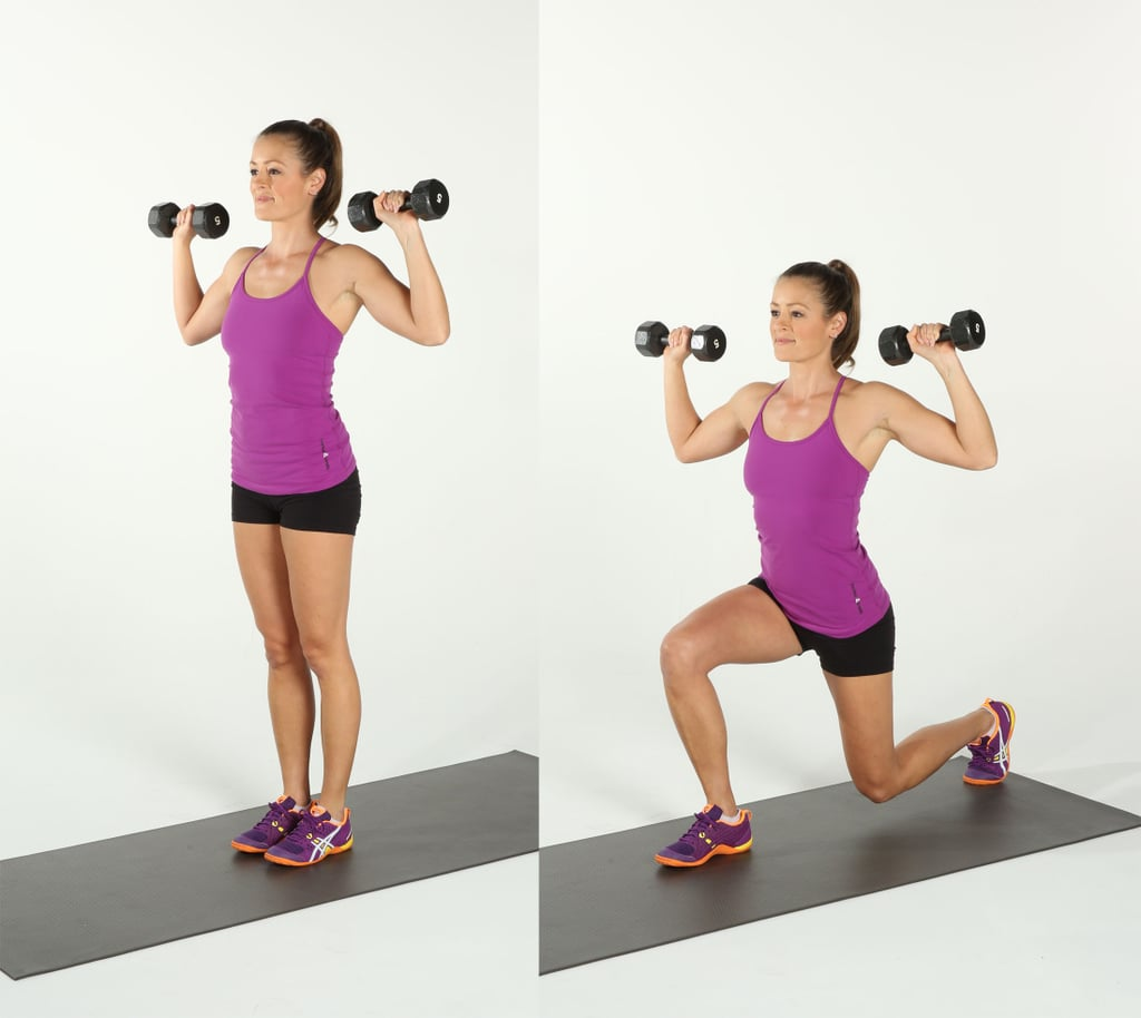 Weighted Reverse Lunge
