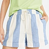 Lou & Grey Cabana Rope-Tie Shorts