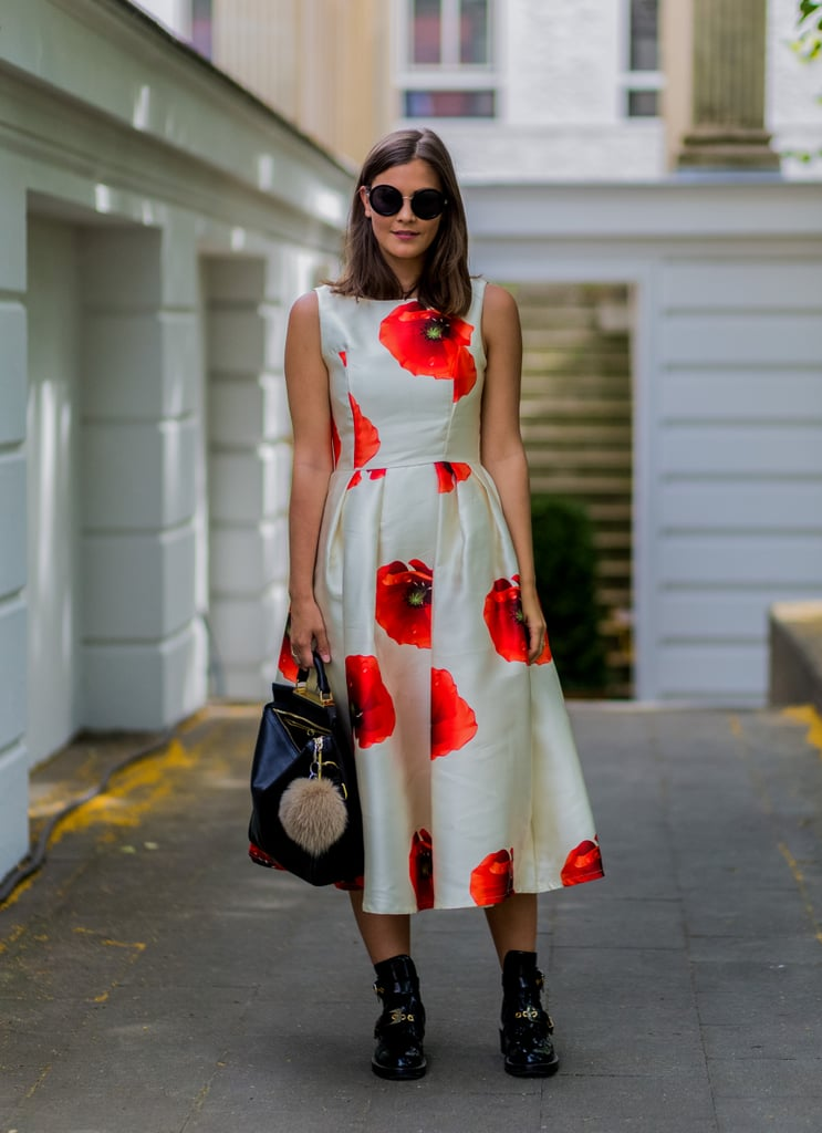 056069d8485 A pretty poppy-print dress