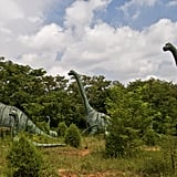 Cower in fear at Dinosaur World in Kentucky.