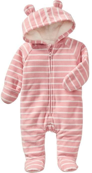 5e5b34083 Performance Fleece Bear One-Piece