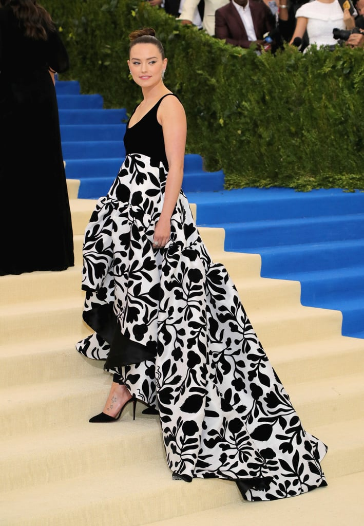 The Force Is With Daisy Ridley in This Stunning Oscar de la Renta Dress