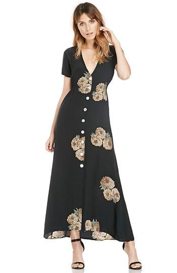 Stone Cold Fox Dharma Silk Dress ($374)