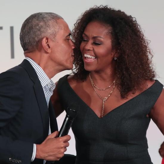 See Michelle Obama's 60th Birthday Tribute For Barack Obama
