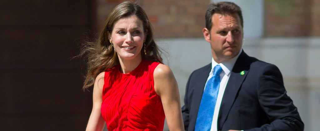 Queen Letizia Is Wearing a Wrinkled Dress — but It's Not What You Think
