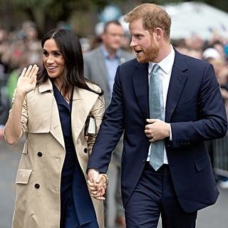 Prince Harry Holding Meghan Markle's Hand in Australia 2018