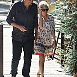 Jason Segel and Michelle Williams went to Little Dom's.