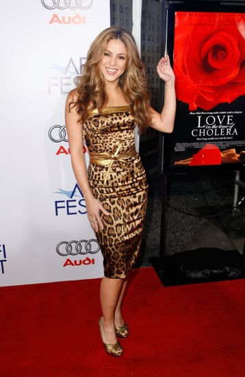 Shakira Celebrates the Premiere of Love in the Time of Cholera in Hollywood