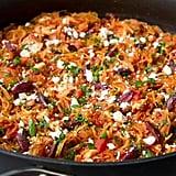 Chicken Spaghetti Squash Skillet
