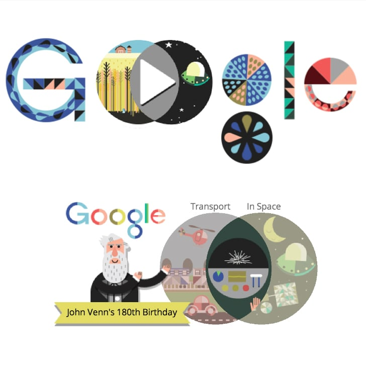 How the Captivating Venn Diagram Google Doodle Came to Be