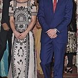 Duchess of Cambridge Wears Temperley London India April 2016