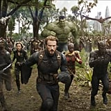 FYI, this is an exclusive picture of us running to the theater on May 4.