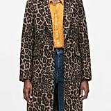 Leopard Print Top Coat
