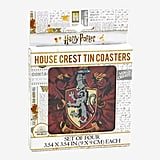 Harry Potter House Crest Tin Coasters Set