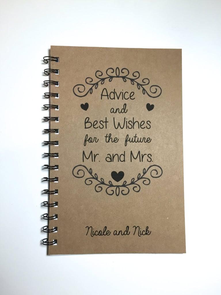 Best Wishes Notebook