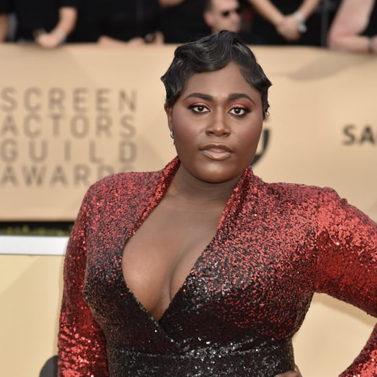 Danielle Brooks's Hair and Makeup at the 2018 SAG Awards