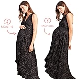 Ingrid & Isabel Racerback Polka Dot Maxi Dress