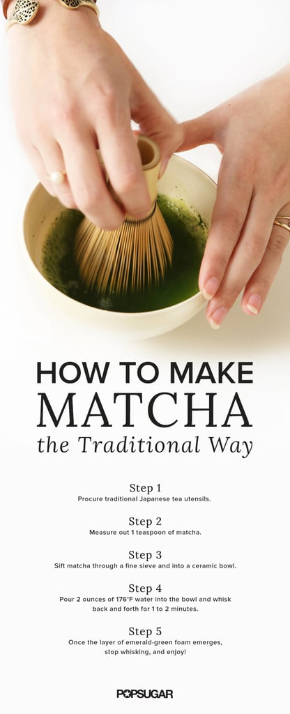 3 Methods For Making Matcha