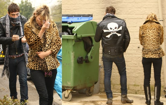 Kate Moss And Jamie Hince Take Lila Grace Out For Lunch In The Cotwolds