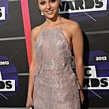 AnnaSophia Robb arrived at the CMT Awards.