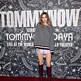 Suki Waterhouse at the Tommy Hilfiger x Zendaya New York Fashion Week Show