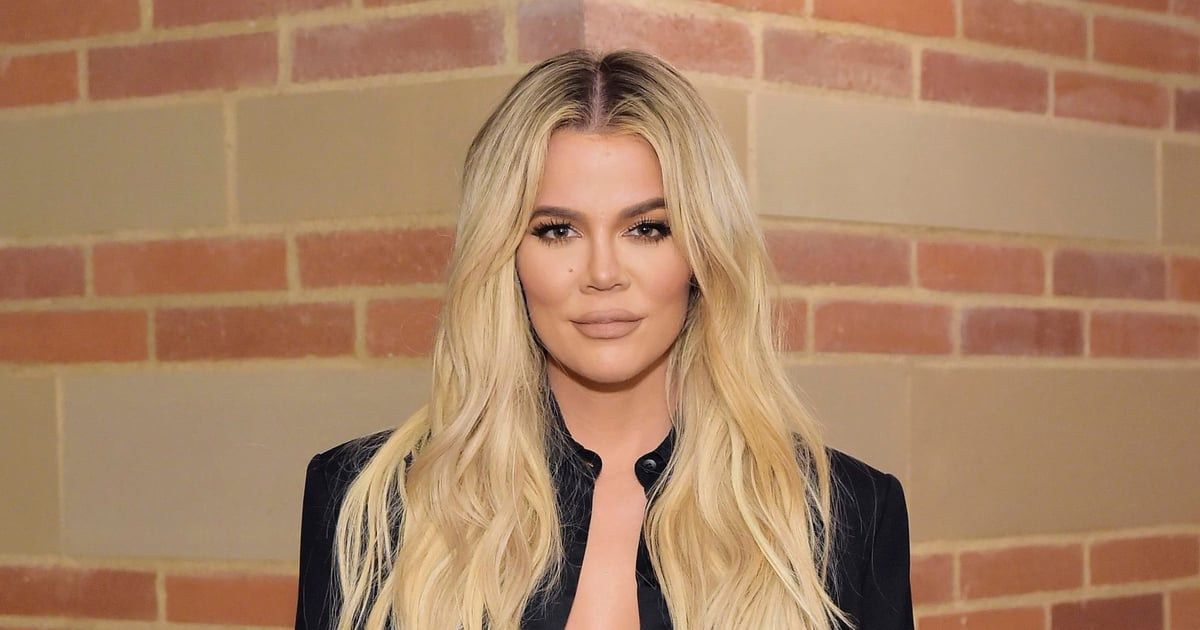 Khloé Kardashian Looks Holiday Party-Ready With Her Festive Matte Red Nails