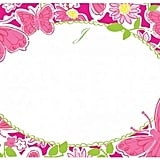 The Well Appointed House Lilly Pulitzer Personalized Correspondence Cards with Initial-Hidden Garden ($25)