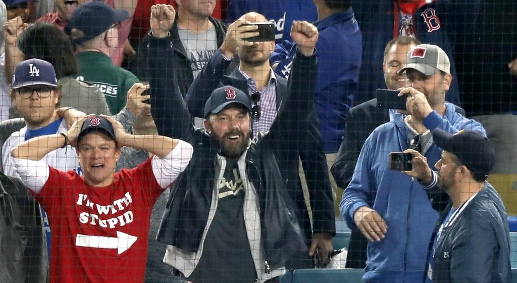 Jimmy Kimmel and Matt Damon World Series Feud Video 2018